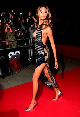Jourdan Dunn attending the 2015 GQ Men of the Year Awards at the Royal Opera House, London. PRESS ASSOCIATION Photo. Picture date: Tuesday September 8, 2015. See PA story SHOWBIZ GQ. Photo credit should read: Ian West/PA Wire