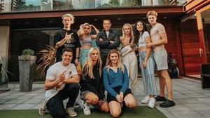 Health warnings: Influencers at the Goat House, where 10 popular Irish social media personalities moved in together in order to produce online content for their fans