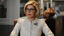 Christine plays Diane Lockhart in The Good Wife