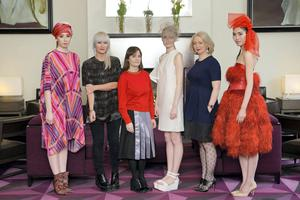 At the launch of Kerry Fashion Week in the Fitzwilliam Hotel Dublin were judges for this year's KFW Irish Fashion Industry Awards were model Aoife Ryan (wearing dress by Helen Steele), womenswear designer Helen Steele; stylist and Fashion & Textile Advisor with Irish Design 15, Aisling Farinella, model  Fiona Griffin (wearing headpiece by Laura Kinsella and dress by Danielle Romeril), Fashion Editor Irish Independent and Executive Editor Weekender Magazine, Bairbre Power and model Danny Xu (wearing gown by Umit Kutluk). Picture: Pawel Nowak.