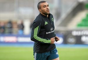 Simon Zebo scored a try during his debut at the Millenium Stadium but a foot injury picked up early in the game against England next time out was the last action he has seen in the Six Nations.