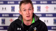 Wales assistant coach Rob Howley