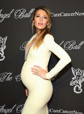 Actress Blake Lively attends Angel Ball 2014 at Cipriani Wall Street on October 20, 2014 in New York City.  (Photo by J. Countess/Getty Images)