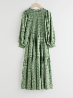 Green floral dress, €99 from & Other Stories