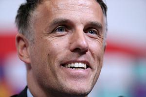 Phil Neville. Photo: Peter Cziborra