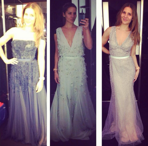 Some more dresses with Oscar potential for Amanda Byram. Photo: Twitter/ @amandabyram1
