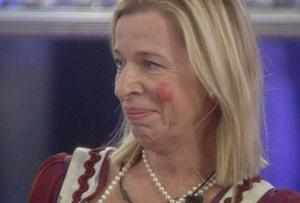 Katie Hopkins reacts to Katie Price's arrival at the Big Brother house