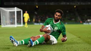 Cyrus Christie has spoken out about the racist abuse he has received while part of the Irish team. Photo by Eóin Noonan/Sportsfile