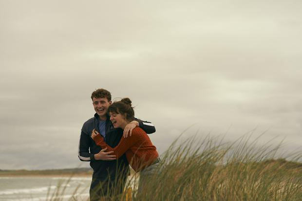 Daisy Edgar Jones as Marianne and Paul Mescal as Connell in the TV adaptation of 'Normal People' by Sally Rooney