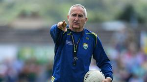 Donie Buckley has left the Kerry set-up after just one season. Photo by Brendan Moran/Sportsfile