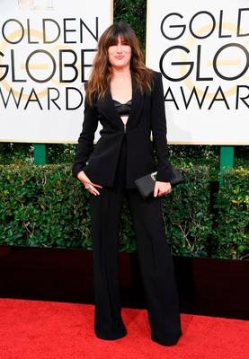 Actress Kathryn Hahn attends the 74th Annual Golden Globe Awards at The Beverly Hilton Hotel on January 8, 2017 in Beverly Hills, California.  (Photo by Frazer Harrison/Getty Images)