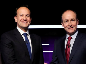 'I believe that, working together, Leo and Micheál could give us a government that is up to the needs of the nation at this most critical of times.' Photo: Maxwells