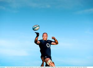 3 June 2014; Ireland's Paul O'Connell during squad training ahead of their opening Summer Tour 2014  test game against Argentina on Saturday. Ireland Rugby Squad Training, Hurling Club, Buenos Aires, Argentina. Picture credit: Stephen McCarthy / SPORTSFILE