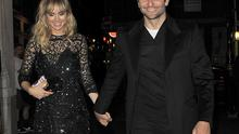Suki Waterhouse and Bradley Cooper head to J Sheeky restaurant for dinner on September 15, 2014 in London, England.  (Photo by Keith Hewitt/GC Images)