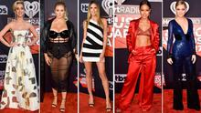 (L to R) Katy Perry, Hunter McGrady, Heidi Klum, Karrueche Tran and Kelsea Ballerini