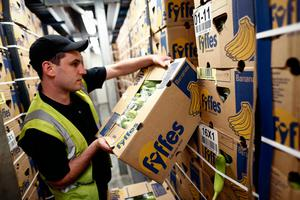 Fyffes is a global player in fruit distribution, with sales of €1.2bn and profits of €46m. Photo: Simon Dawson/Bloomberg