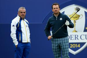 Paul McGinley and Graeme McDowell