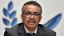 World Health Organization (WHO) Director-General Tedros Adhanom Ghebreyesus. Photo: Fabrice Coffrini/Pool via REUTERS/File Photo