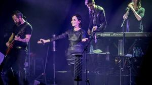Cranberries on stage at Bord Gais Energy Theatre.  PIC: AM Photo Star