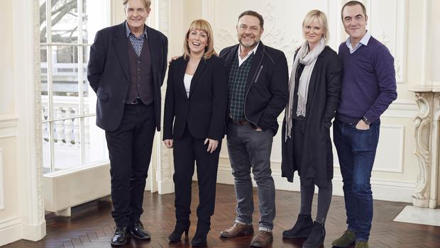 Fay Ripley, second from the left), and her Cold Feet co-stars when it was rebooted in 2016 (Jonathan Ford/ITV)