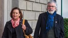 Demand: The Quinn family have called on Gerry Adams to apologise. Photo: Mark Condren