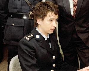 Majella working as a garda in Store Street station