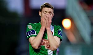 22 May 2015; Garry Buckley, Cork City, at the end of the game. SSE Airtricity League Premier Division, Cork City v Shamrock Rovers, Turners Cross, Cork. Picture credit: Matt Browne / SPORTSFILE