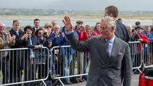 Britain's Prince Charles, the Prince of Wales, visits Mullaghmore with Camilla, the Duchess of Cornwall, in Sligo, Ireland May 20. Prince Charles visited the site where the Irish Republican Army (IRA) killed his great uncle Lord Mountbatten by exploding a bomb on his boat in 1979 (REUTERS/Arthur Edwards)