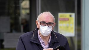 David Williams, 64,  is from England but has an address at Sroughan, Lacken, Blessington, Co. Wicklow. Picture Colin Keegan, Collins Dublin