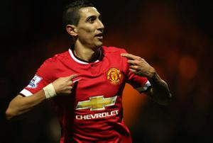 Manchester United had to blitz the transfer market to sign Angel di Maria, simply because they had to throw money at the problem they found themselves in. Photo: Matthew Peters/Man Utd via Getty Images