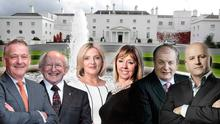 The six presidential hopefuls for the Áras 2018 race