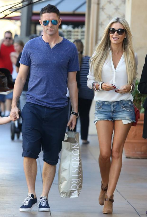 Robbie and Claudine Keane