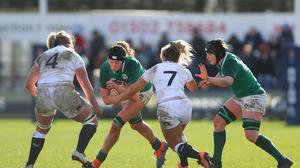 Aoife McDermott is raring to go ahead of Ireland's Six Nations campaign. Photo by Simon Bellis/Sportsfile