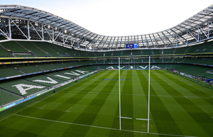 A general view of the Aviva Stadium, Dublin. Photo: Ramsey Cardy/Sportsfile
