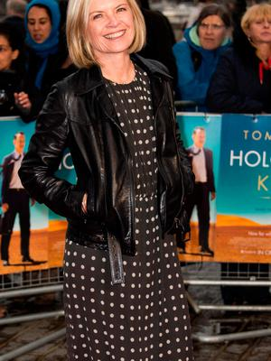 Overlooked: Mariella Frostrup may just need to raise her gaze. Photo: Getty