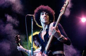 Phil Lynott of Thin Lizzy. Photo: Fin Costello/Redferns