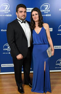 Leinster's Martin Moore and Lona O'Connor in attendance at the Leinster Rugby Awards Ball. Picture: Stephen McCarthy / SPORTSFILE