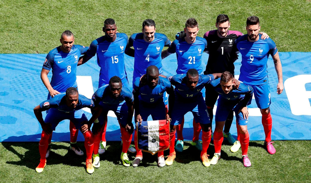 The France team to face Ireland   REUTERS/Max Rossi