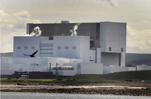 Torness Nuclear Power Station, near Dunbar, in Scotland