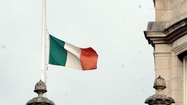 The Tricolour flies at half-mast over Government Buildings after the Berkeley tragedy