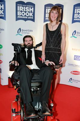 Simon and Ruth Fitzmaurice at the Bord Gais Energy Irish Book Awards at the Double Tree by Hilton Hotel in Dublin. Picture: Arthur Carron