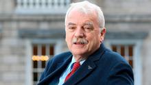 Minister Finian McGrath: 'I have to fight the guys to get my stuff on the table and keep it there.' Photo: Frank McGrath