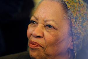 The late Toni Morrison poses after being awarded the Officer de la Legion d'Honneur, the Legion of Honour, France's highest award, during a ceremony at the Culture Ministry in Paris, France November 3, 2010.  REUTERS/Philippe Wojazer/File Photo