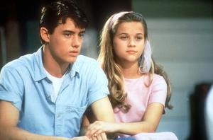 Reese Witherspoon with fellow child actor Jason Landon in 1991's The Man In The Moon