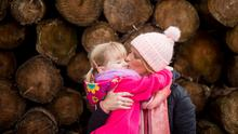 Sinead Hingston pictured with her daughter Lily. Photo: Mark Griffin Photography