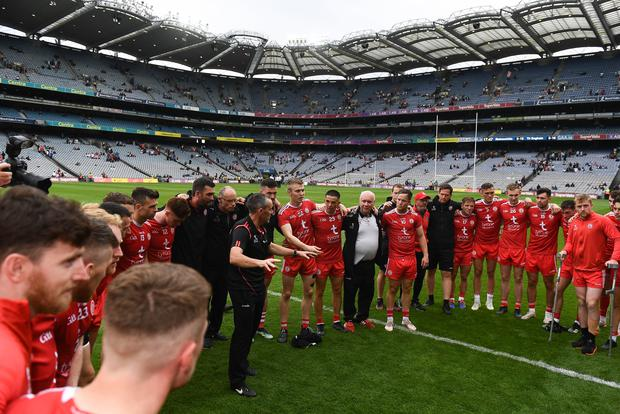 Tyrone won the 2021 Ulster title but are set to pull out of the championship. Photo by Harry Murphy/Sportsfile