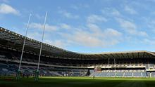 A general view of Murrayfield Stadium