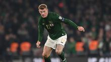 James McClean has once again highlighted the abuse he and his family have received online. Photo by Harry Murphy/Sportsfile