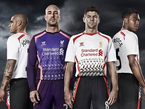 Liverpool Christmas jumper? Liverpool's away kit last season was heavily criticised by fans on forums and social media after it's release. It would have gone down as a classic had they won the league