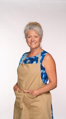 Retiree Linda will put her culinary skills to the test in the latest series of The Great British Bake Off (C4/Love Productions/Mark Bourdillon)